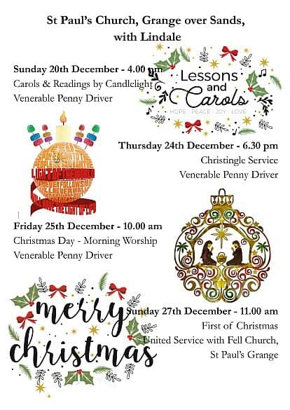 Grange Christmas 3 Services