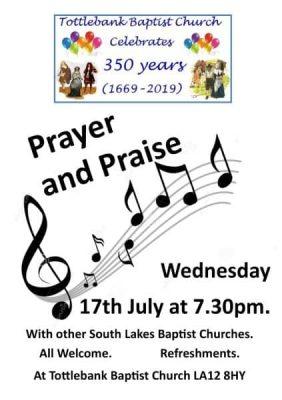 Tottlebank Prayer and Praise