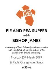 Bishop James Visit - Poster - 25th March-260h